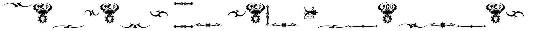 Marquis De Sade Ornaments font