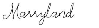 Marryland