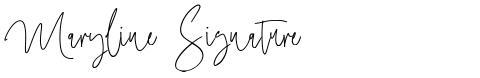 Maryline Signature