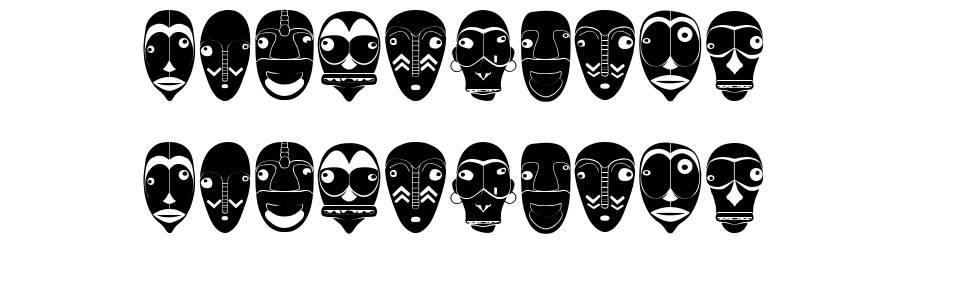 Mascara czcionkę