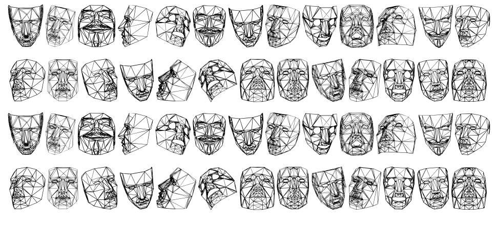 Masks 3D font