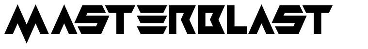Masterblast font