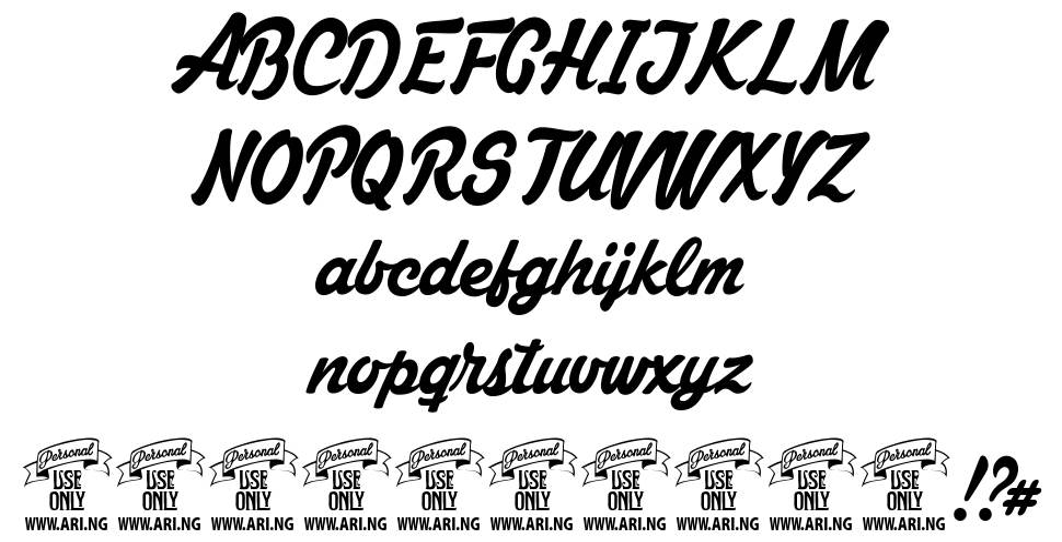 Mastoc font