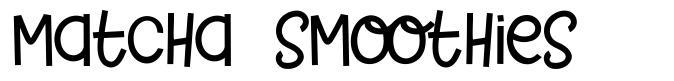 Matcha Smoothies