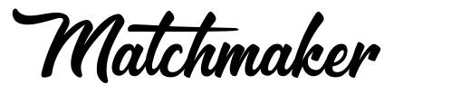 Matchmaker шрифт