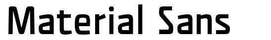Material Sans font