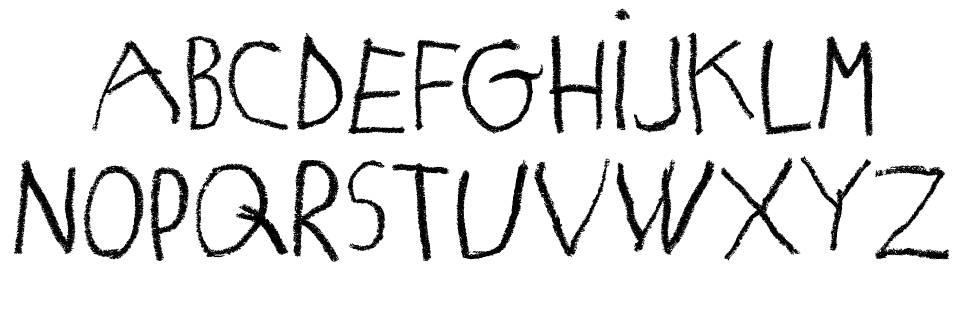 Matildas Grade School Hand フォント