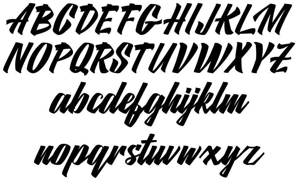 Matlagih font
