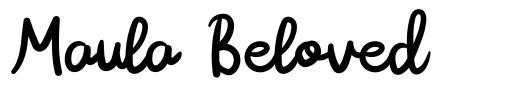 Maula Beloved フォント