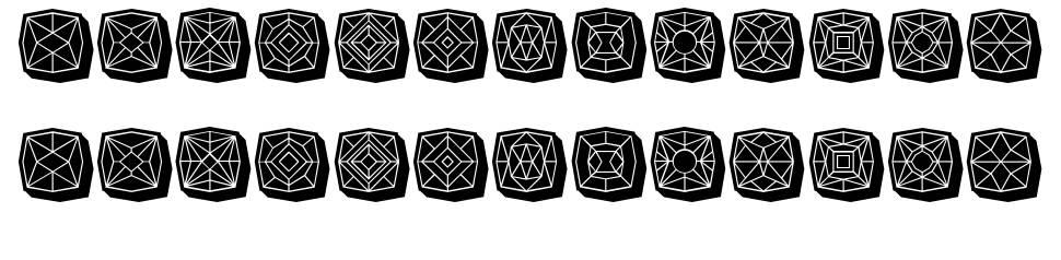Maumbo font