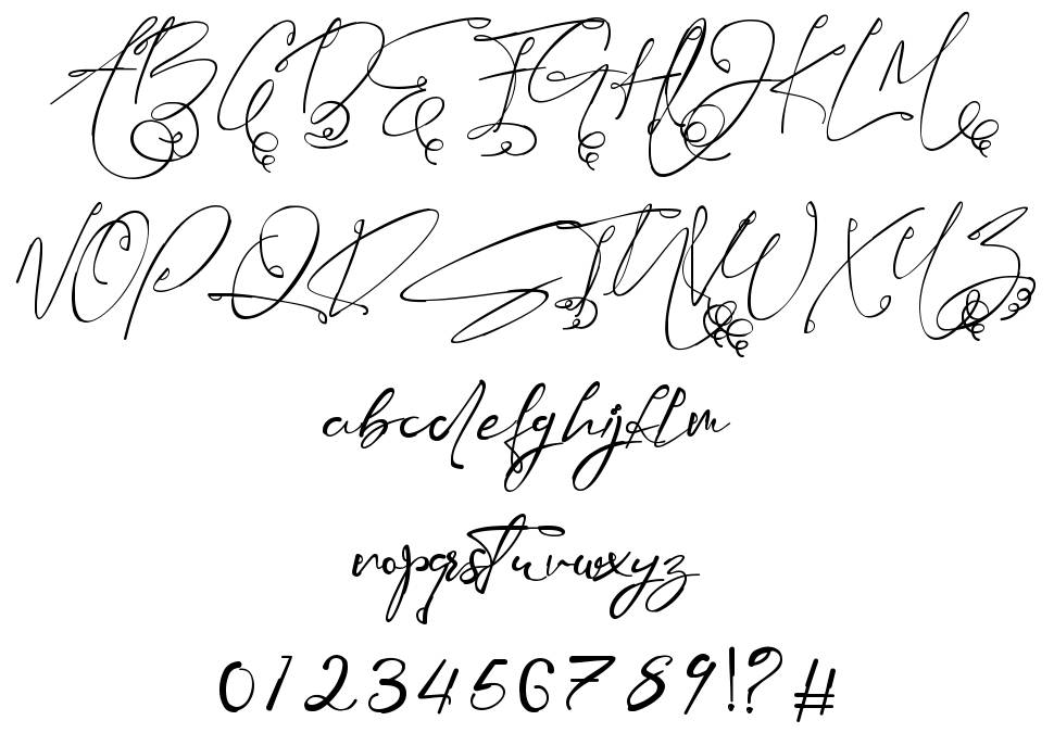 Mauthy Ghoise font