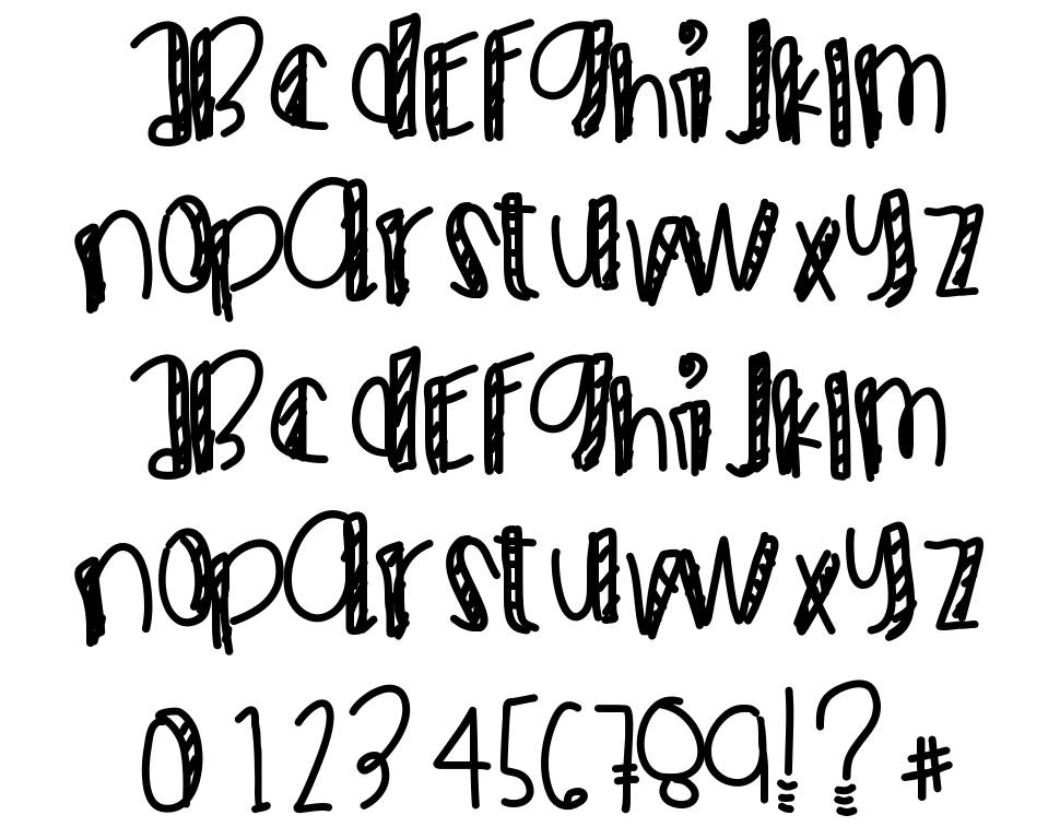 Max Be Cool font