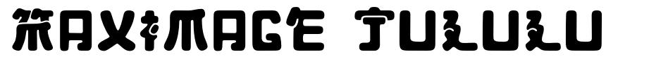 Maximage Jululu font