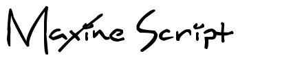 Maxine Script