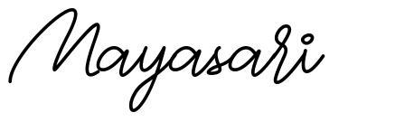 Mayasari fonte