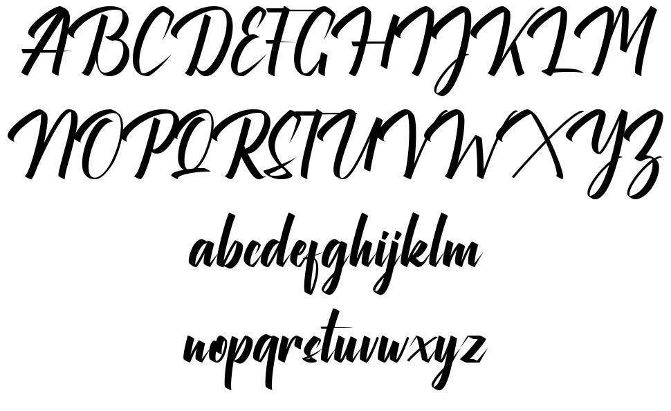 Maylika Calligraphy फॉन्ट