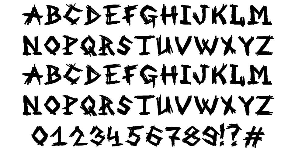 MB An Old Witch font