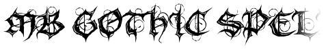 MB Gothic Spell