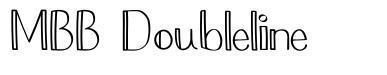MBB Doubleline font