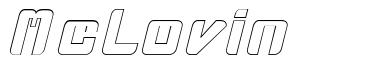 McLovin font