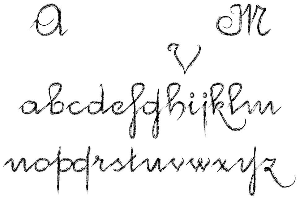 McVincenzo шрифт