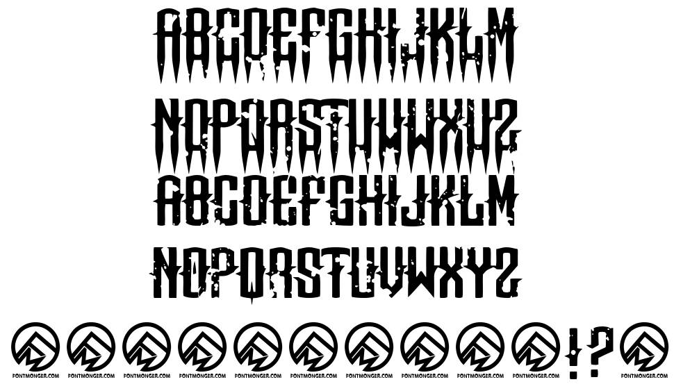 Means of malice font