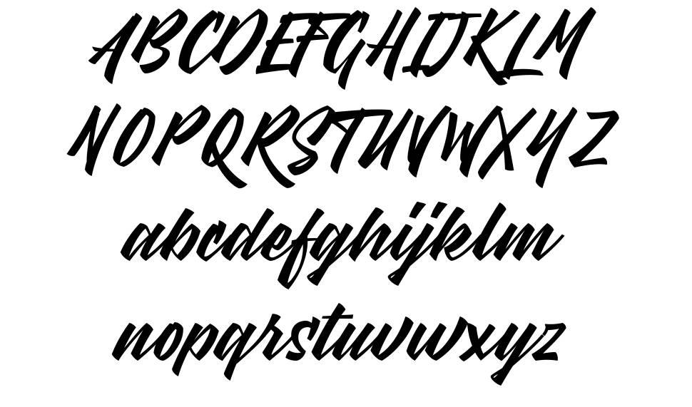 Meat Buckets font