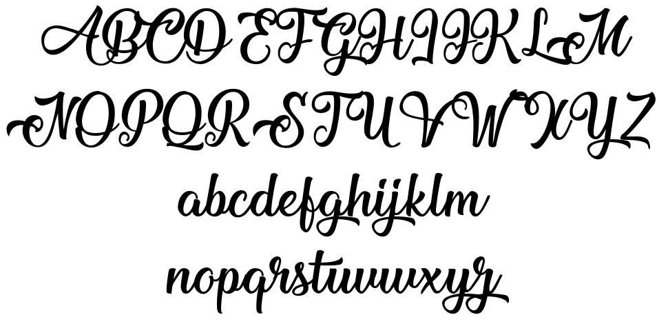 Mechanic of the Heart font