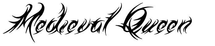 Medieval Queen font