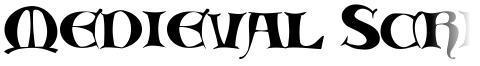 Medieval Scribish