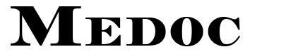 Medoc font