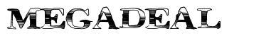MegaDeal font