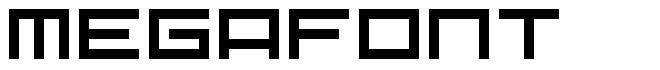 Megafont font