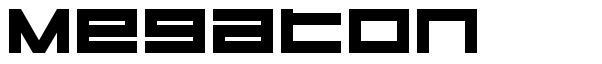 Megaton font