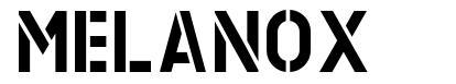 Melanox font