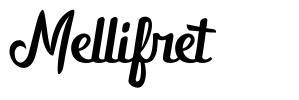 Mellifret шрифт