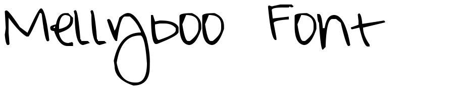 Mellyboo Font font