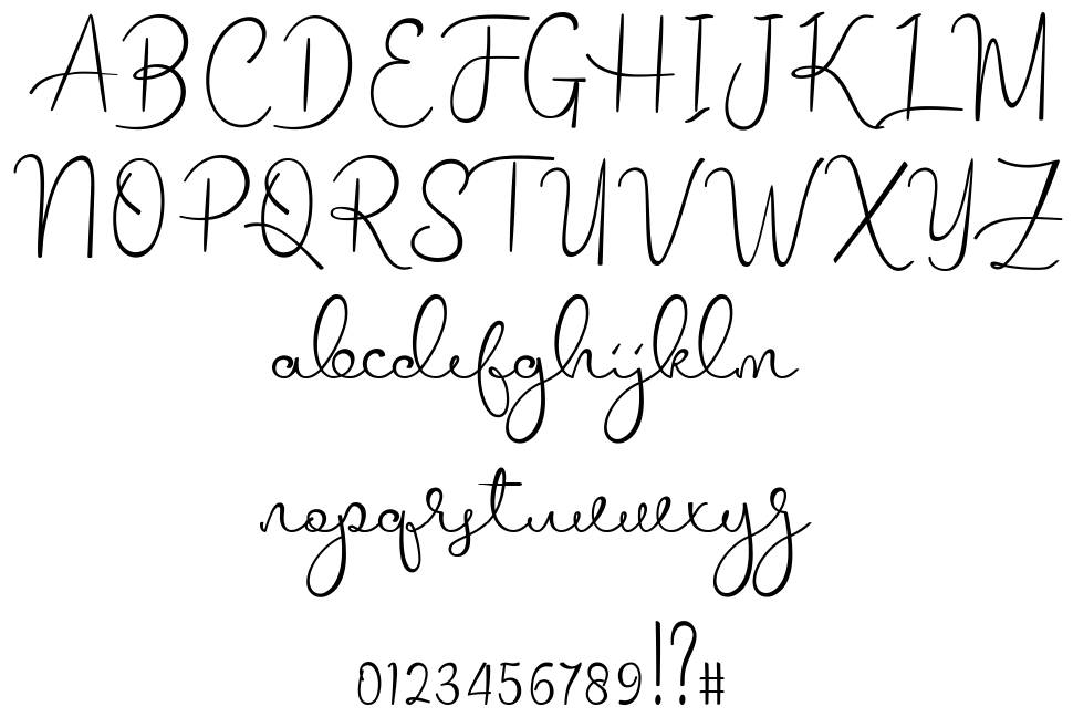 Melodie font