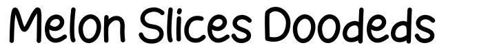 Melon Slices Doodeds font