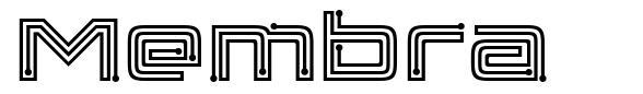 Membra font