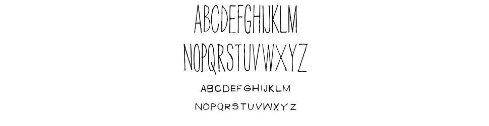 Men In Black Credits font