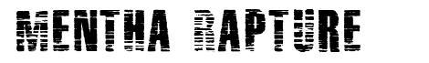 Mentha Rapture font