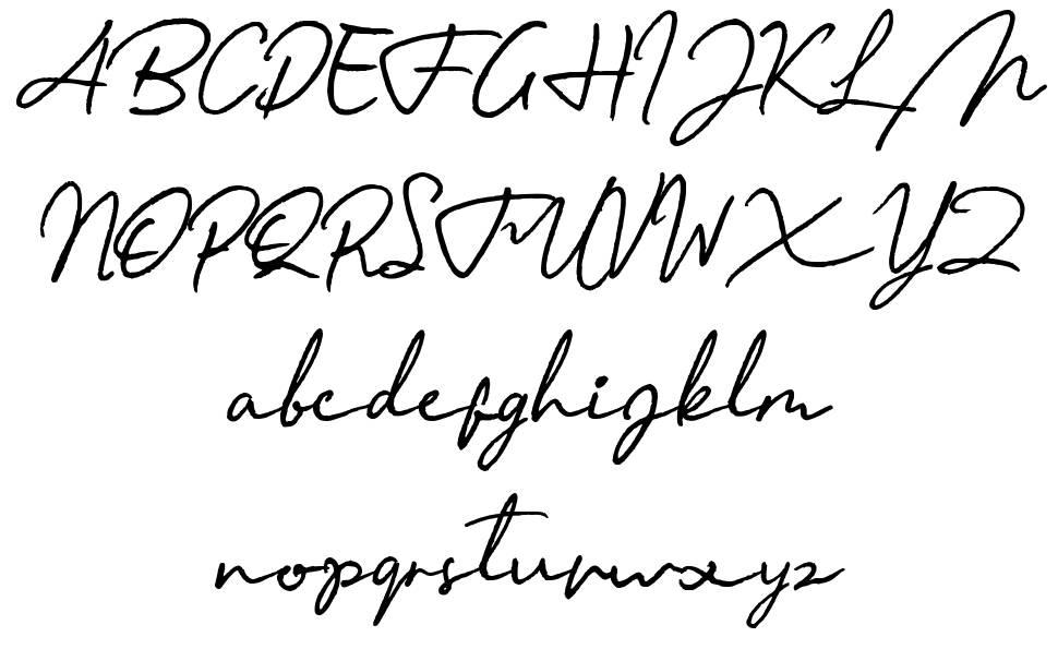 Menttarich шрифт