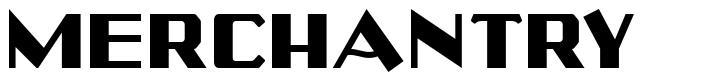 Merchantry font