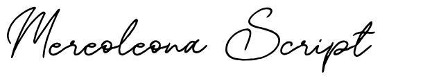 Mereoleona Script