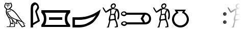 Meroitic Hieroglyphics