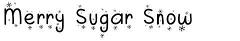 Merry Sugar Snow