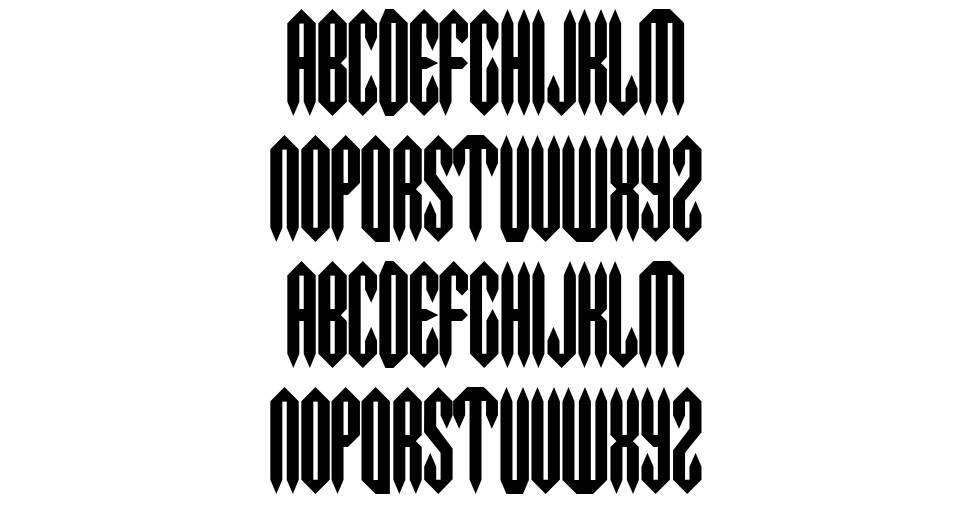 Metal Crusher font