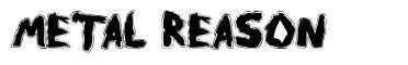 Metal Reason font