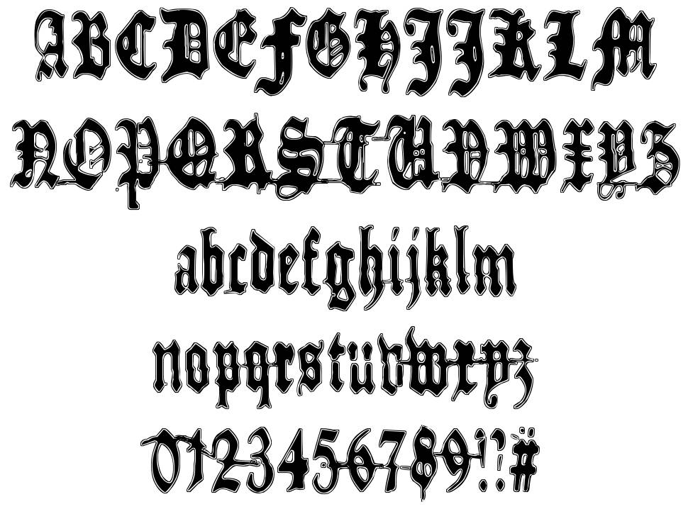 Metamorphose Requiem font